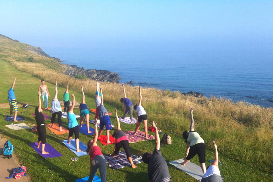 New Outdoor Yoga Class In Newquay